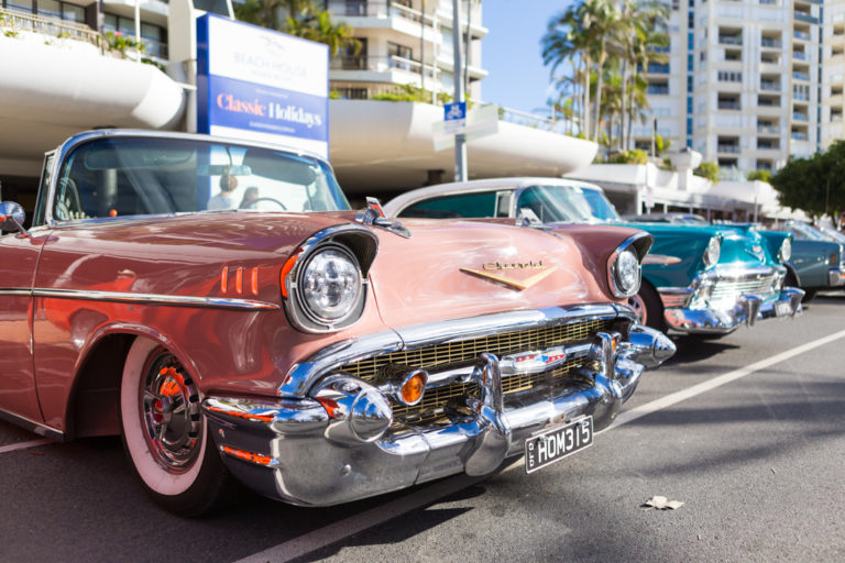Cooly Rocks On Classic Car Shown 'n' Shine
