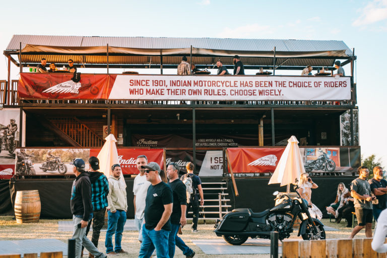 Indian Motorcycles Activation